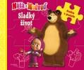 Detail titulu Máša a medveď-Sladký život-kniha s puzzle