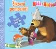 Detail titulu Máša a medveď-Šikovní pomocníci-kniha s puzzle
