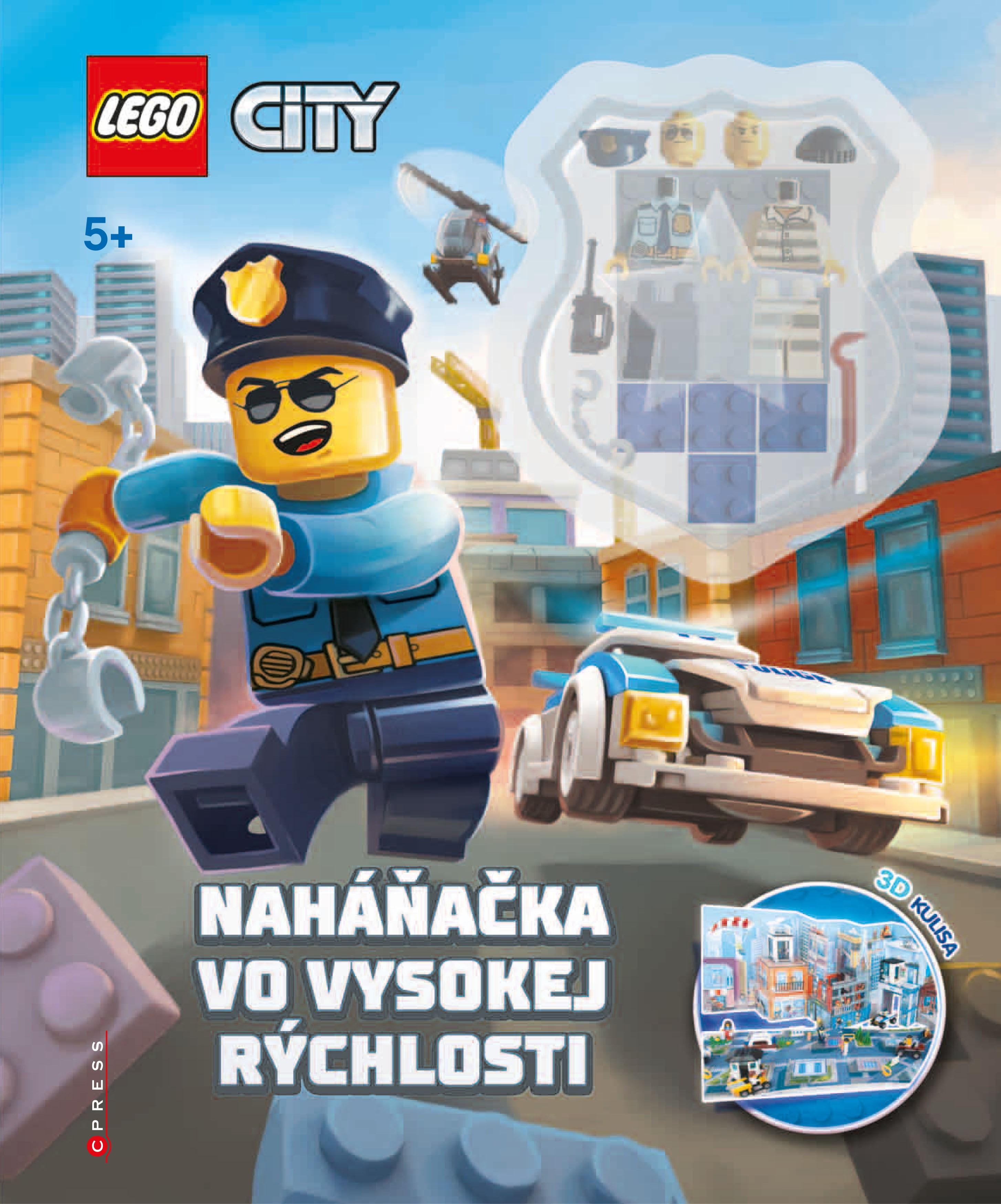 a8db1ca78 Kniha: LEGO® CITY Naháňačka vo vysokej rýchlosti (Kolektív autorov ...