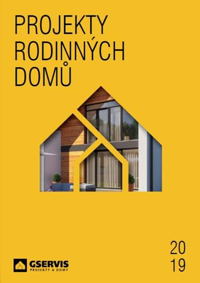Paperback Projekty Rodinných Domů 2019 Autor Neuvedený Buxsk