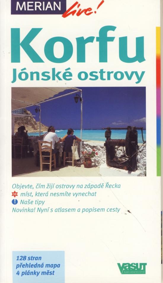 Kniha Korfu Jonske Ostrovy Merian 41 Autor Neuvedeny Bux Sk